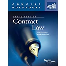 Principles of Contract Law, 3d (Concise Hornbook Series)
