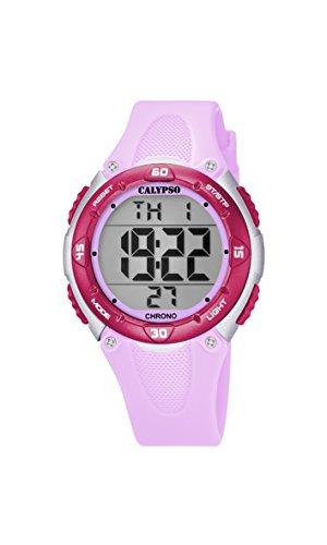 Calypso Reloj Digital para Unisex de Cuarzo con Correa en Plástico K5741/2