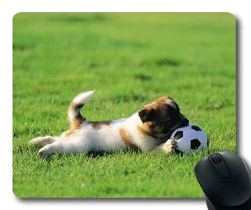 Gaming Mouse Pads, Hipster Dog Wear Color niedlicher Hund hd, Präzisionsnaht, langlebige Mausunterlage (Hunde Hipster Kostüm)