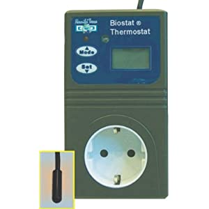 Namiba Terra 1927 Biostat Thermostat 1000 - Night und Day, regulierbar bis 1000 Watt belastbar mit Nachabsenkung