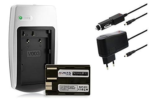 Chargeur + Batterie BP-511 pour Canon EOS 5D 10D 20D 30D 40D 50D 300D D30 D60 / Powershot... voir liste!