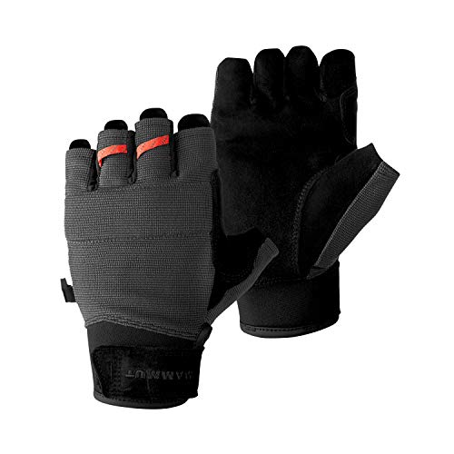 Mammut Pordoi Handschuhe, Black-Graphite, 9