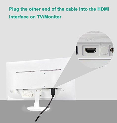 FOINNEX Cavo VGA a HDMI 1.8M (PC Vecchio Stile a Nuovo TV Monitor ... 949097821ca3