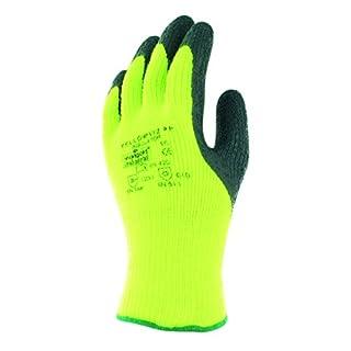 Ansell Viz PF Insulator Yellow Spezialzweckhandschuh, Mechanikschutz, Schwarz, Größe 8 (6 Paar pro Beutel)