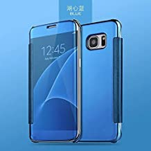 Electronic ropla Ted Clear View Flip Cover Case Para Samsung Galaxy S7 – con inteligente Sleep & Wake Función – Color: Azul Teal de Blue & # x2584; & # X2580; & # x2584; & # X2580; & # x2584;