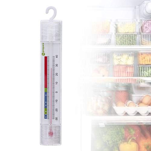 quanju cheer Kühlschrankthermometer Tragbares Thermometer Haken Thermometer Gefrierschrank Kühlschranktemperaturmesser