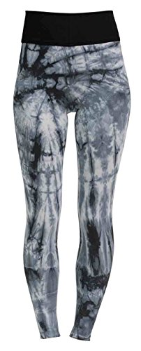 Flying Love Birds Yoga-Batik-Leggings Long - Batik Blue S -