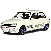 Otto 1/18 Scale Resin - OT691 - Renault 5 Gordini Turbo - White