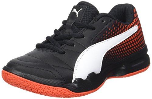 Puma Unisex-Erwachsene Veloz NG Jr Multisport Indoor Schuhe, Schwarz Black White-Iron Gate-Gum, 39 EU