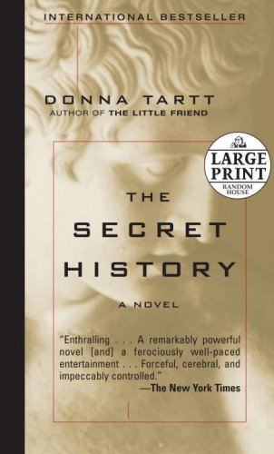 Book cover for The Secret History