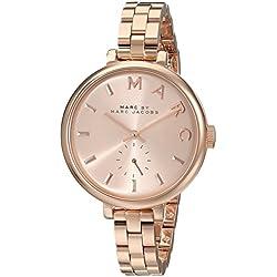 Marc Jacobs MBM3364 - Reloj con correa de metal, para mujer, color rosa