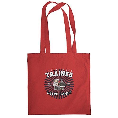 Texlab–Classically Trained–sacchetto di stoffa Rot