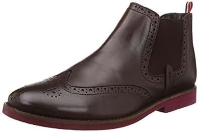 BATA Men's Affleck Tan Boots - 10 UK/India (44 EU) (8053112)