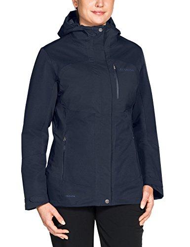 Vaude Damen Miskanti 3-in-1 Jacke, Multi-Colour/Eclipse, 38(S) Multi-color-jacke