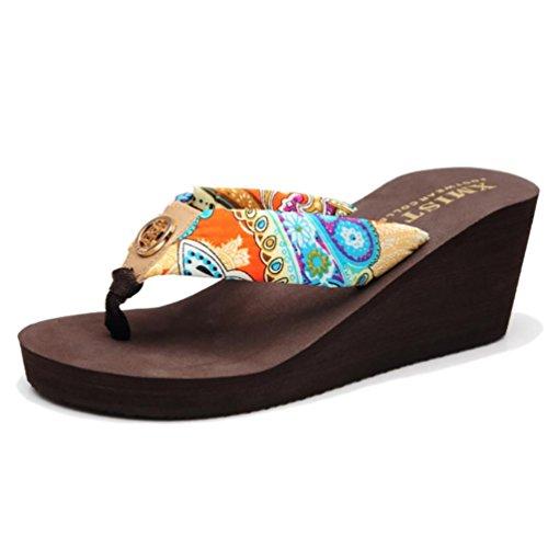 SHANGXIAN Pantofole donna con i tacchi alti