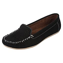 Authentic Vogue Womens Black Colour Loafer 7 UK
