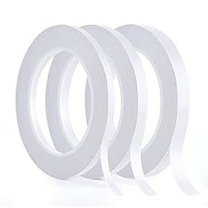 kuuqa 3 rollen doppelseitiges klebeband set starke klebeband f r b ro diy handwerk 30 meter. Black Bedroom Furniture Sets. Home Design Ideas