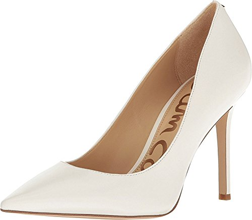 Leather Bright Edelman Damen Pumps Sam White Hazel Dress Nappa HSPwyqya
