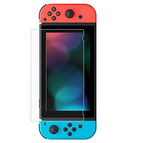 Taslar Nintendo Switch Tempered Glass Screen Protectors(Transparent)