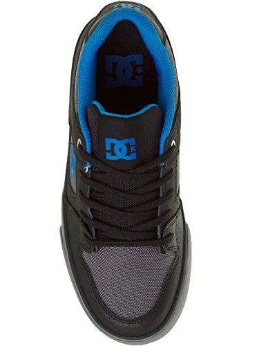 DC Shoes, Jungen Skateboardschuhe Noir - Black/Grey/Blue