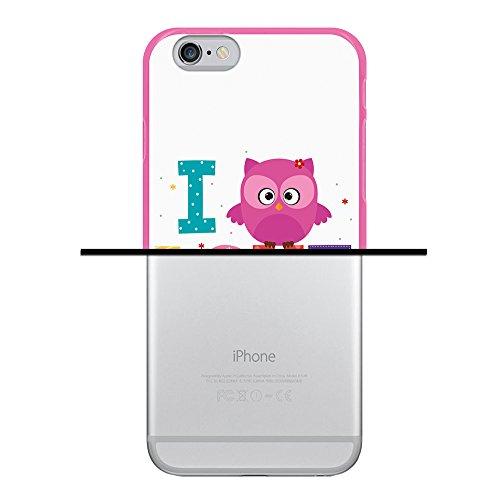 iPhone 6 6S Hülle, WoowCase Handyhülle Silikon für [ iPhone 6 6S ] Mondrian Stil Rechtecke Handytasche Handy Cover Case Schutzhülle Flexible TPU - Transparent Housse Gel iPhone 6 6S Rosa D0461