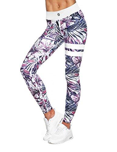 LaLaAreal Mallas Deportivas Mujer Leggins Yoga Pantalon