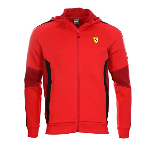 Puma Herren Kapuzenjacke SF Scuderia Ferrari Rot