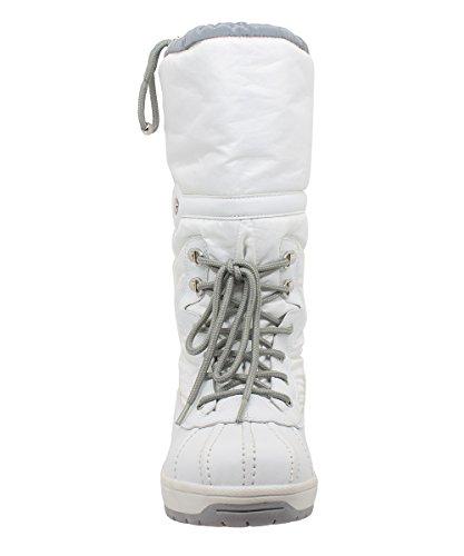 Kefas - Jade 3326 - Bottes de neige Femme Blanc