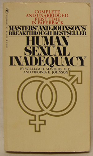 Human Sexual Inadequacy par William H. Masters, Virginia E. Johnson