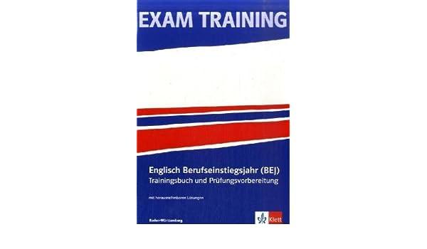 Exam Training Englisch Berufseinstiegsjahr Bej Baden Württemberg