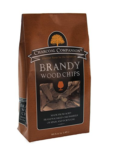 Charcoal Companion CC6060 88.5-cu Inch Brandy Soaked Wood Chips - Brown