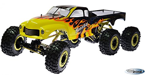RC Monstertruck kaufen Monstertruck Bild 1: RC Monstertruck Crawler 6 x 6 Climber Rock Fighter Hannibal XXL 104 cm 1:5 HSP 2,4 GHz RTR*