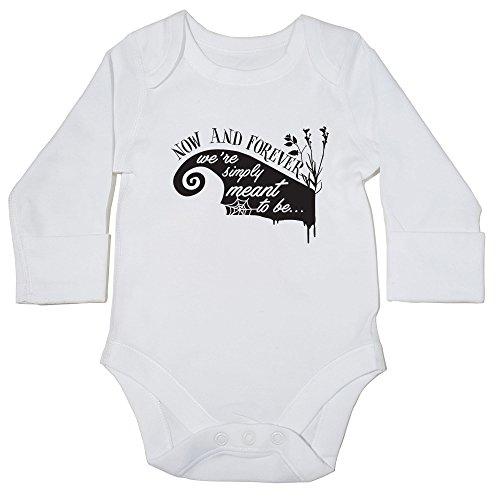 hippowarehouse jetzt und für immer, Wir sind einfach Meant To Be Baby Body (Langarm) Jungen Mädchen Gr. 56, (Full Movie Halloween 2)