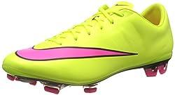 Nike Mercurial Veloce II FG, Herren Fußballschuhe, Gelb (Volt/Hyper Pink-Black 760), 44.5 EU