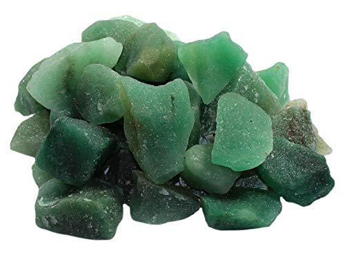 Aventurin Rohsteine Edelsteine (Brasilien) 1 kg, Brunnensteine Wassersteine Dekosteine