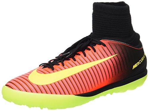 Nike - Jr Mercurialx Proximo Ii Tf, Scarpe da calcio Unisex – Bimbi 0-24 Arancione (Naranja (Total Crimson / Vlt-Pnk Blst-Blk))