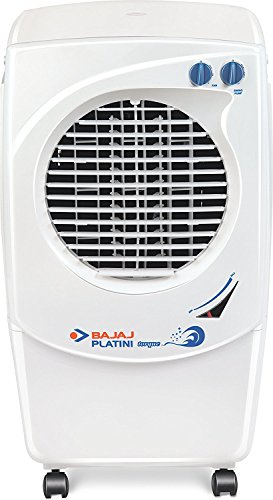 Bajaj Platini PX97 36-Litre Room Cooler (White)  available at amazon for Rs.8299