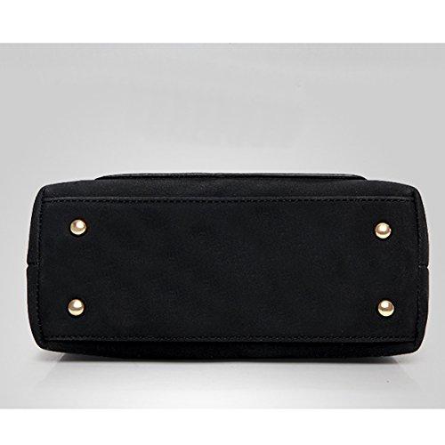 Frau Einfach Mode Schulter Diagonale tragbar Tasche Handtasche Hellbraun