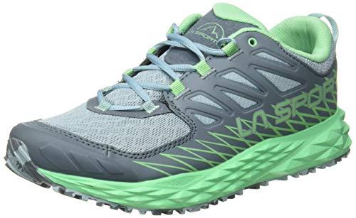 La Sportiva Lycan Woman, Zapatillas de Trail Running para Mujer, Multicolor Stone Blue/Jade Green 000...