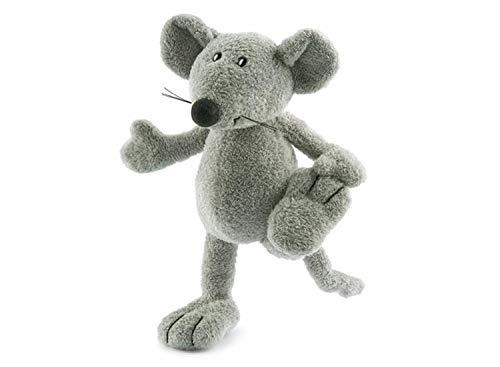 Nici 24068-Plüsch Ratte, grau, 20cm