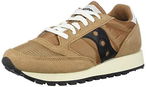 newest 95d24 d03ea Saucony Jazz Original Vintage, Zapatillas para Mujer, Marrón (Brown Black),