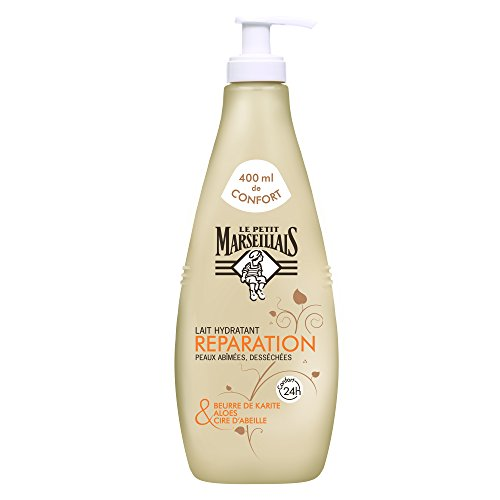 Le Petit Marseillais Milch feuchtigkeitsspendend erholsamen Haut ungeschliffenem und desséchée 400ml -