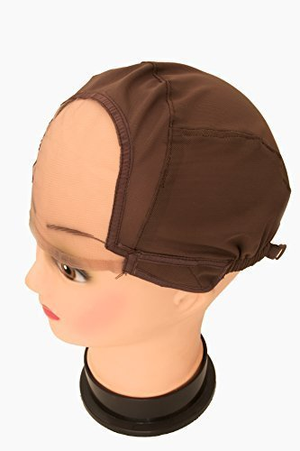 snuggle-glueless-full-lace-wig-making-cap-wig-cap-weaving-mesh-net-with-strap