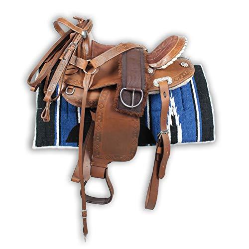 Silver Horse Runder Westernsattel Apaches