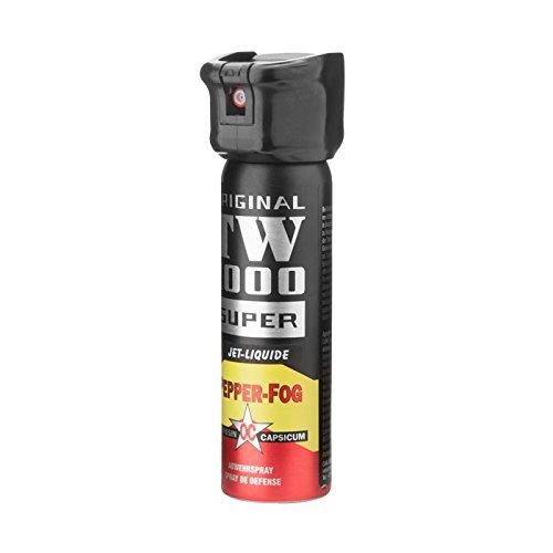 Abwehrspray TW1000 Pfefferspray zielgenauer Strahl Super, 75 ml
