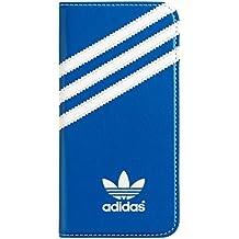 Adidas BXAD18278 - Funda folio para Apple iPhone 6, azul y blanco