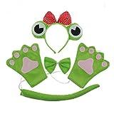 Jun - Juego de Diadema para Disfraz de Rana de Halloween, para niños, Halloween, Halloween,...