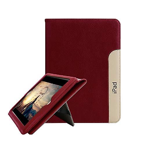 2017 New iPad 9.7/iPad Air 1 2 Hülle, FANSONG PU Leder Smart [Ständer, Aufwachen/Schlafen Funktion] Cover Case für Apple iPad Air2 / iPad 2018 - Ipad Air Handschlaufe