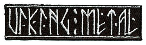 Wotan Textil Aufnäher - Viking Metal -