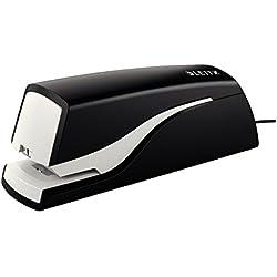 Leitz NeXXt 5532 10hojas Grapado permanente grapadora eléctrica - Grapadoras eléctricas (10 hojas, Cierre estándar, Negro, Corriente alterna, 49 mm, 155 mm)